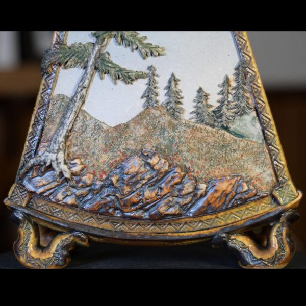Ritual Vase Landscape Detail