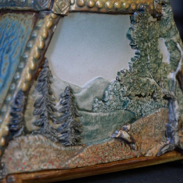 Ritual Jar Landscape Detail