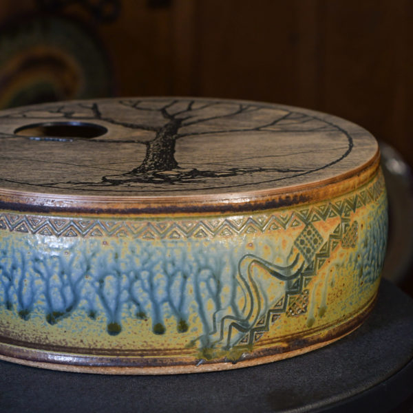 Woodland Groove Crock Drum