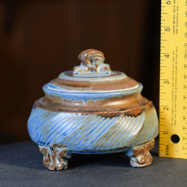 Small Covered Jar 4.5 inches